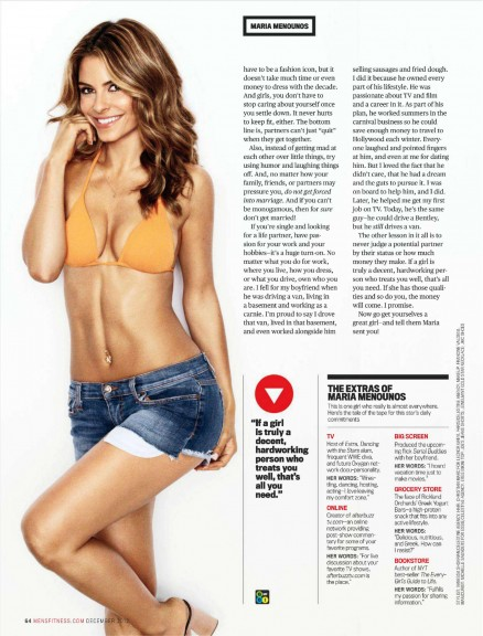 Maria Menounos bikini photoshoot 2012