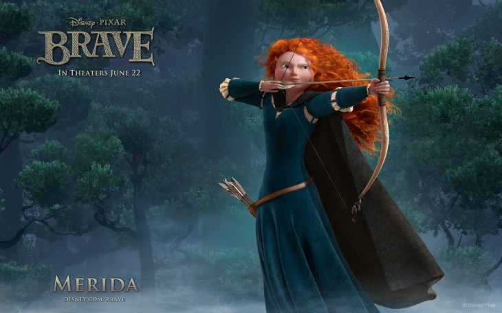 Merida rebelle Disney