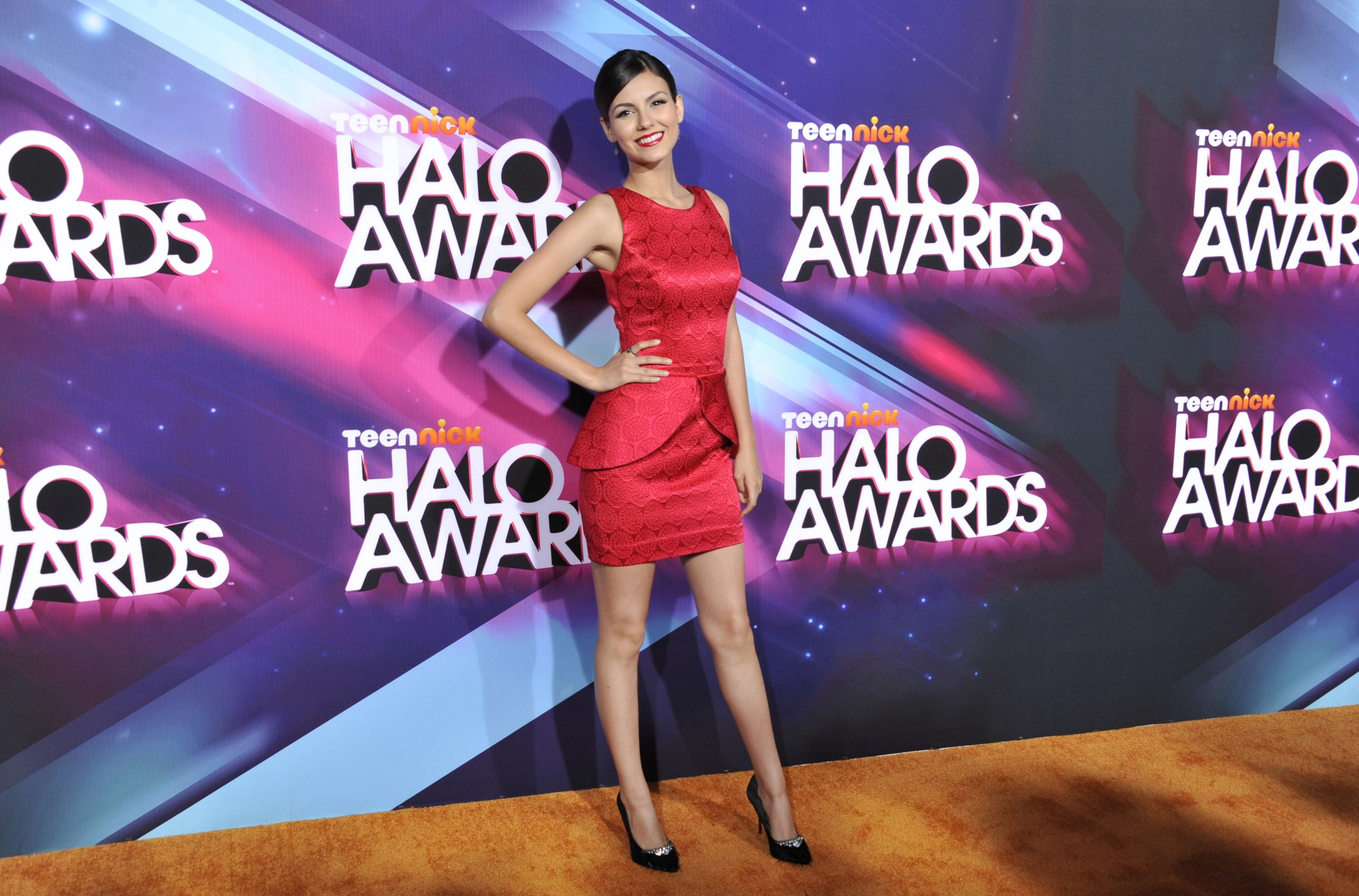 TeenNick Halo Awards Victoria Justice