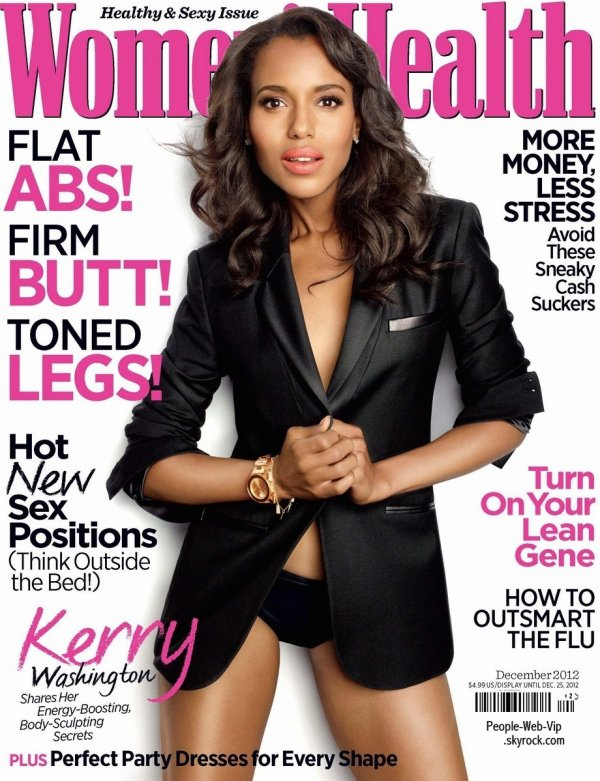 Kerry Washington Women's Health Magazine