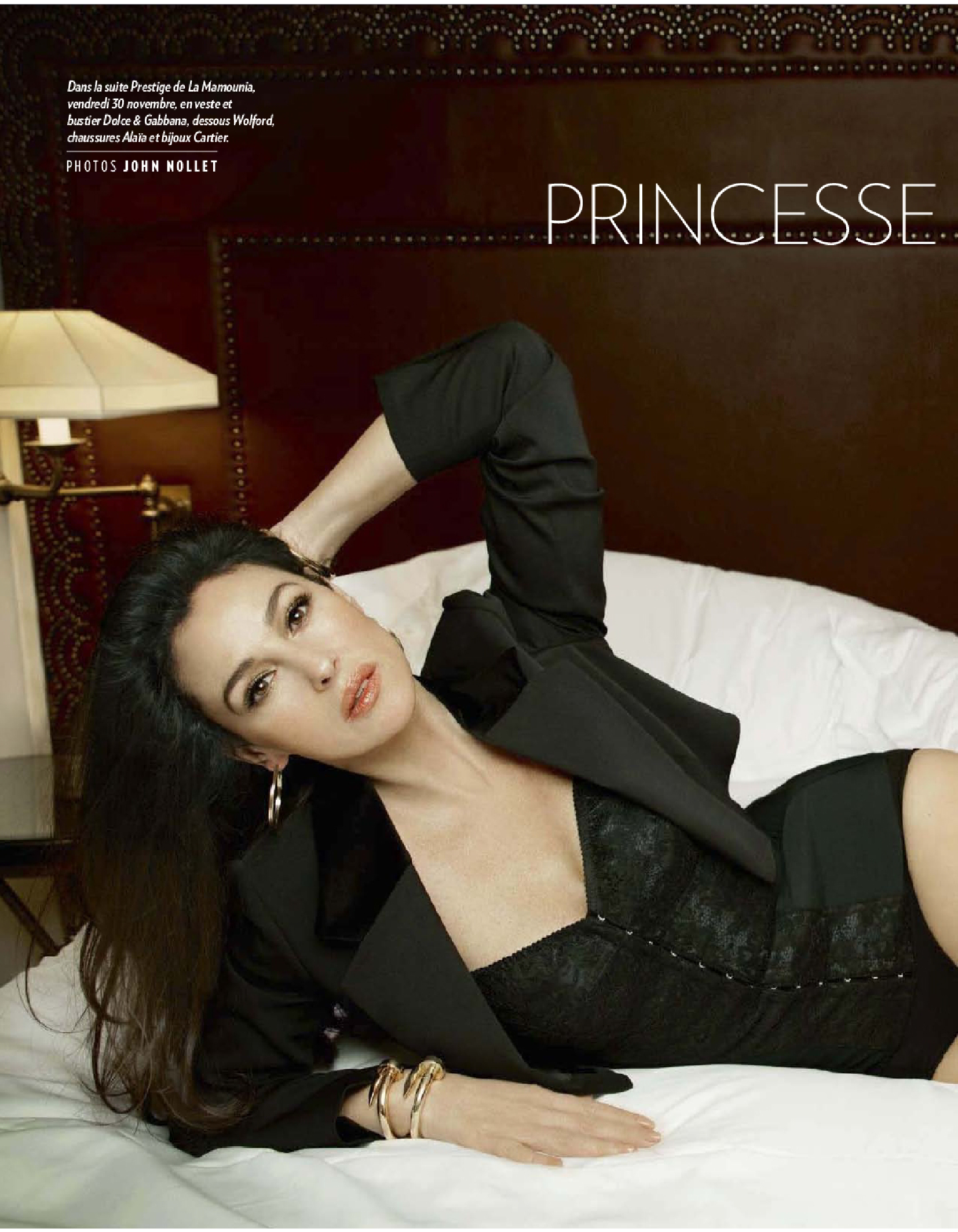 Monica Bellucci Paris Match