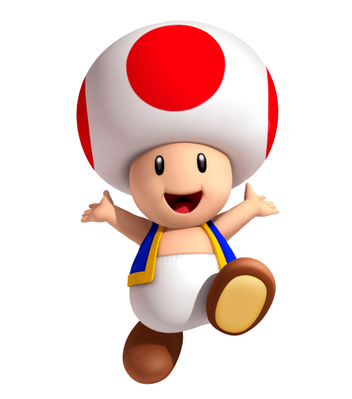 Toad personnage Nintendo