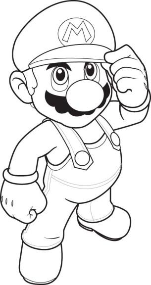 Dessin Mario