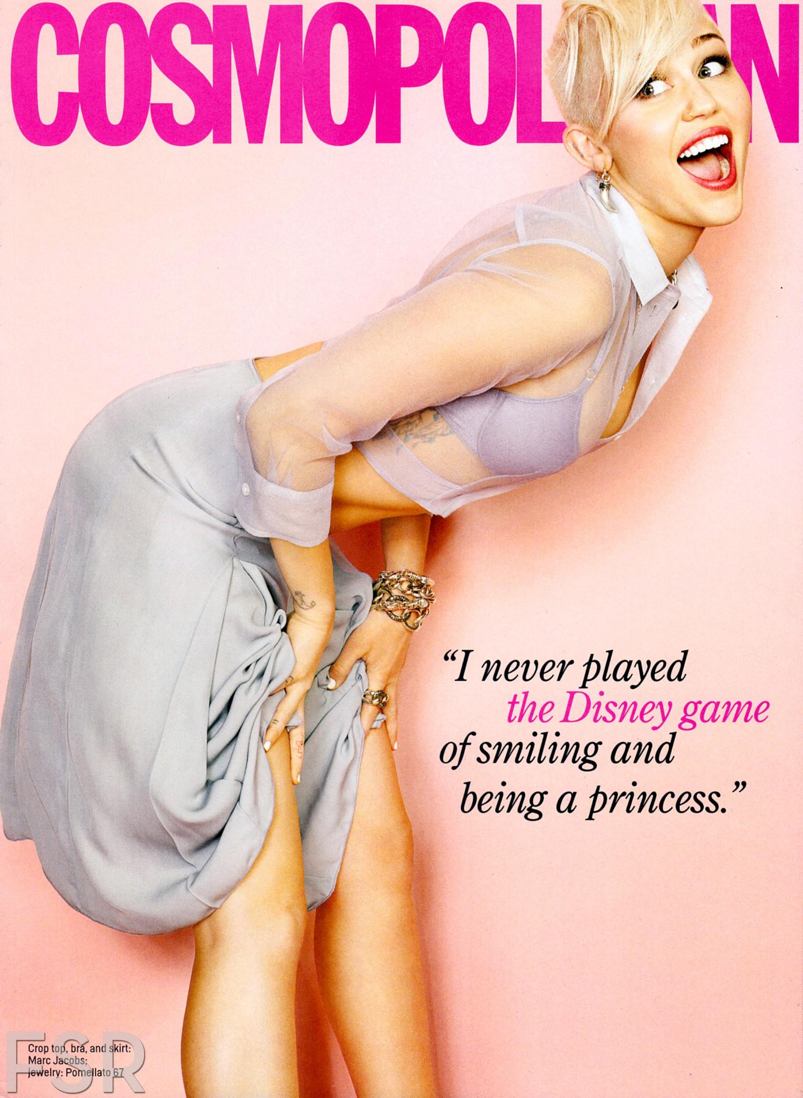 Miley Cyrus hot Cosmopolitan