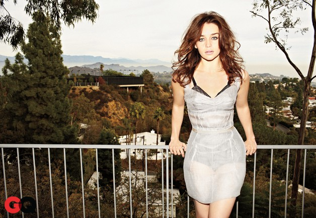 Emilia Clarke dress GQ