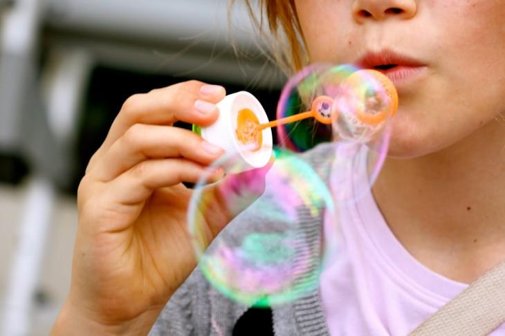 Jeu enfant bulles de savon