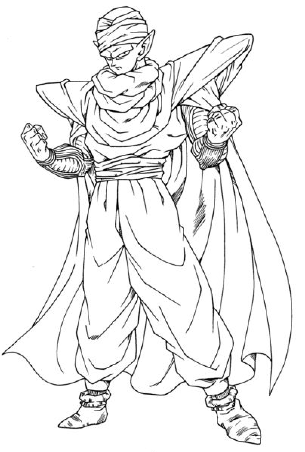Coloriage petit coeur dragon ball z imprimer et colorier - Dessin de dragon ball ...