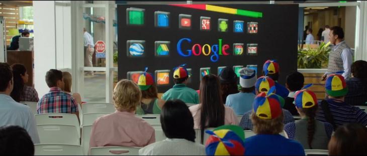 Les stagiaires Google