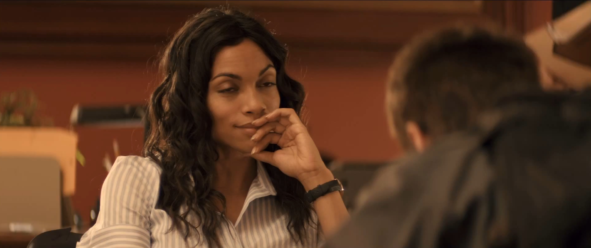 Rosario Dawson The Set Fire With