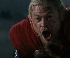Thor pleure Jane Foster