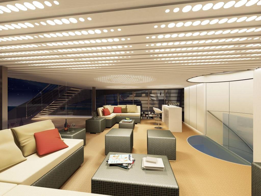 Yacht interieur for Interieur yacht