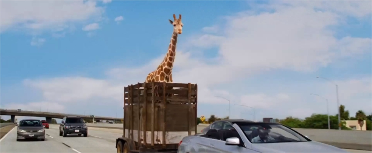 Girafe dans Very Bad Trip 3
