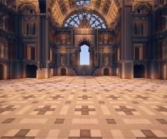 Musée Minecraft construction