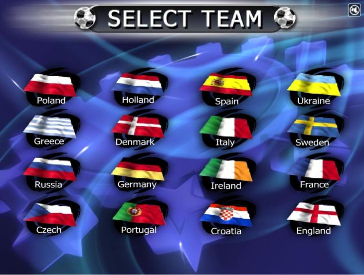 Selection Pays jeu foot