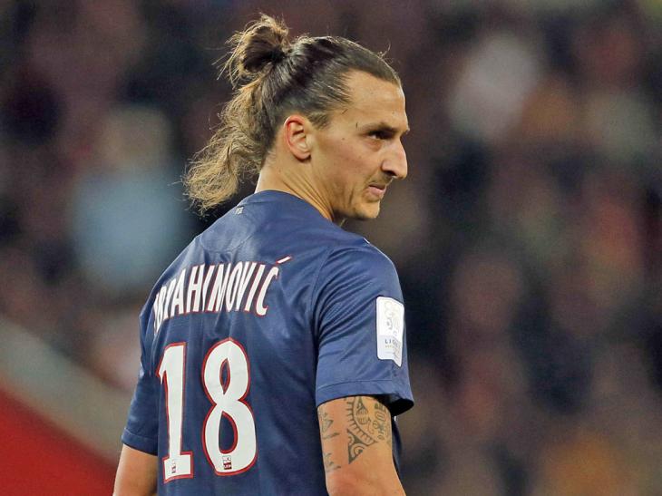 Zlatan Ibrahimovic PSG numéro 18