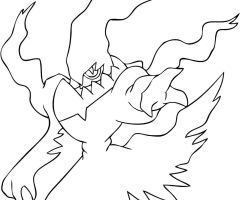 Coloriage Darkrai