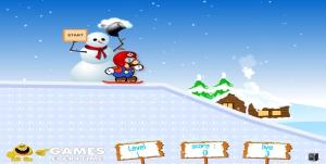 Mario jeu ski