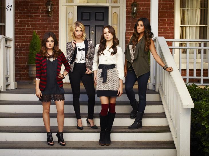 Pretty Little Liars photoshoot saison 4