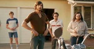 Steve Jobs et Steve Wozniak dans le film
