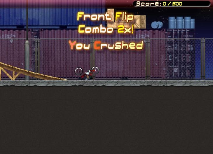 BMX Master crash