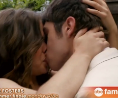 Callie Brandon kiss finale The Fosters