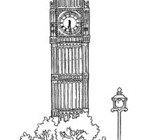 Coloriage Big Ben