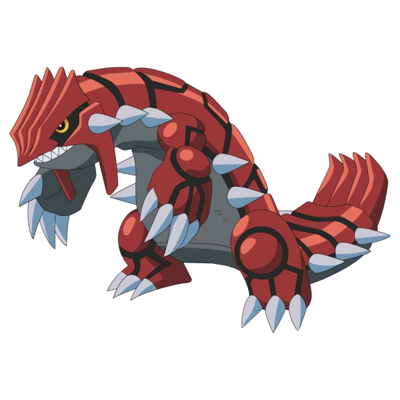 Groudon Pokemon legendaire