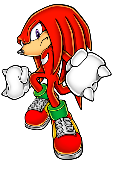 Knuckles personnage Sonic