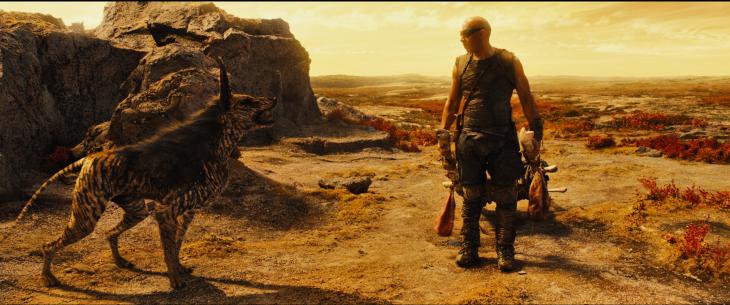 Créature Riddick 2013