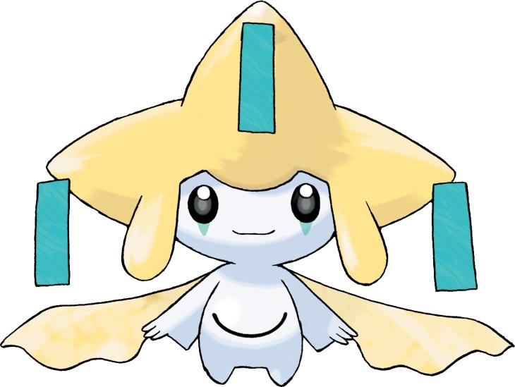 Jirachi Pokemon legendaire