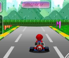 Karting Super Mario
