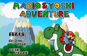 Mario Yoshi adventure