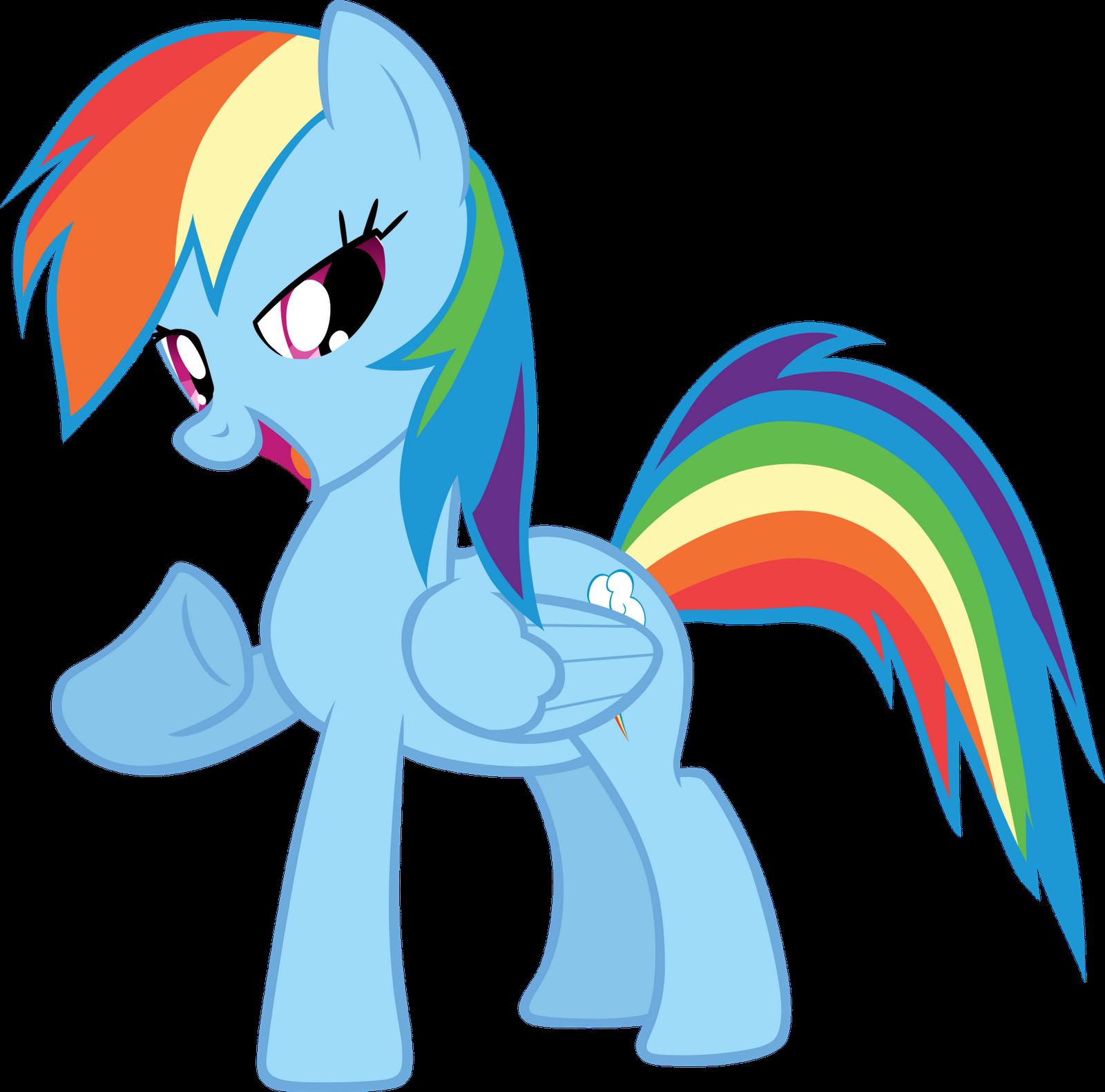 Rainbow Dash Coloriage My Little Pony A Imprimer Gratuit