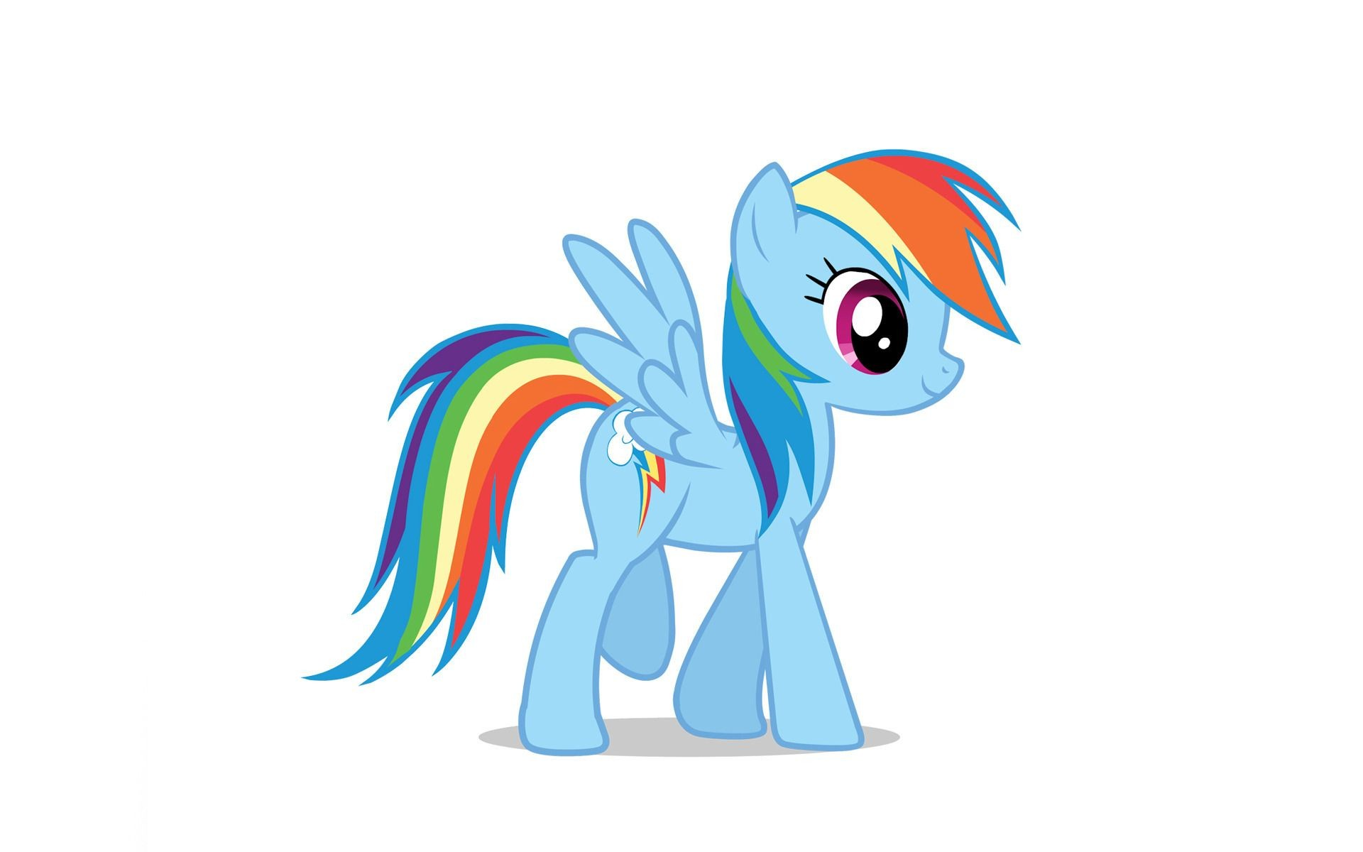 Rainbow dash coloriage my little pony imprimer gratuit - My little pony a colorier ...