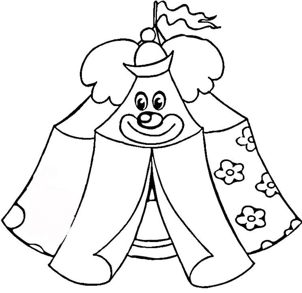 Раскраски цирк для детей - 2
