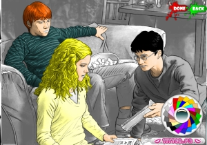 Coloriage Harry Potter en ligne