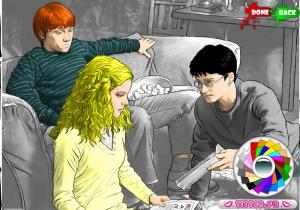 Coloriage Harry Potter en ligne