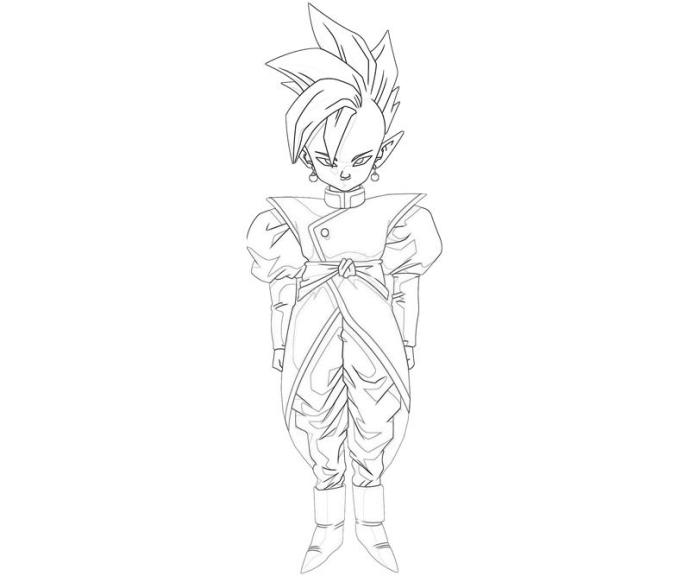 Coloriage Kai Supreme