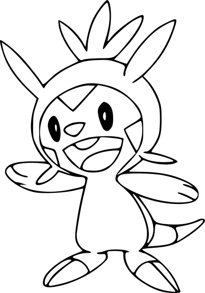 Coloriage Marisson Pokemon