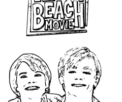 Coloriage Teen Beach Movie
