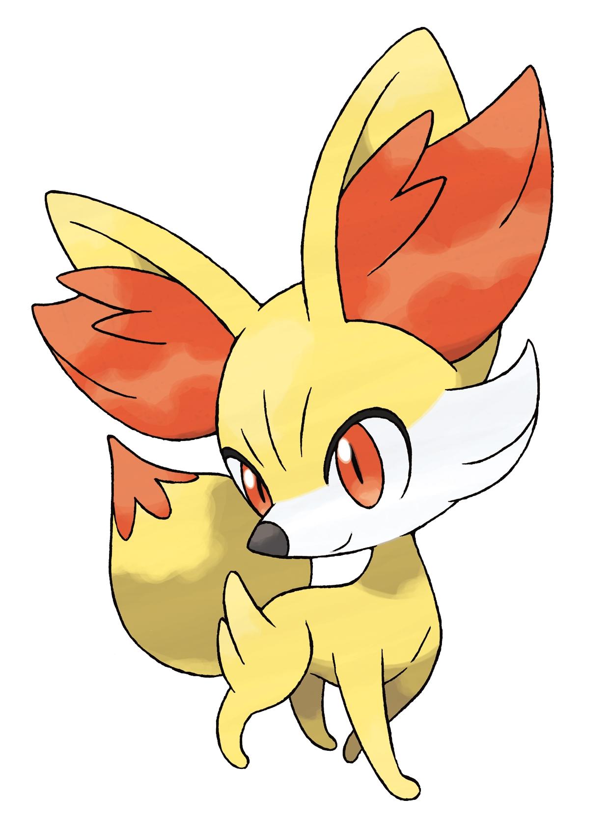 Coloriage Feunnec Pokemon X Et Y A Imprimer