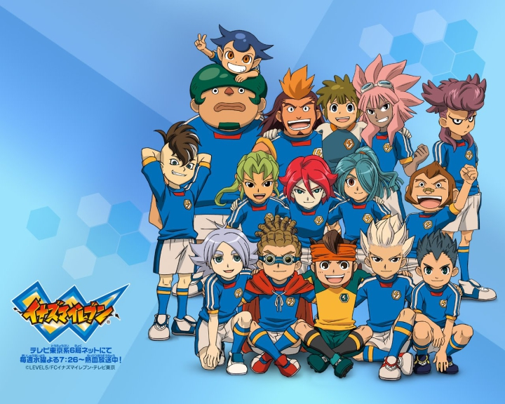 Inazuma Eleven personnages Wallpaper