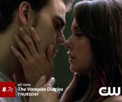 Stefan et Elena saison 5 Vampire Diaries
