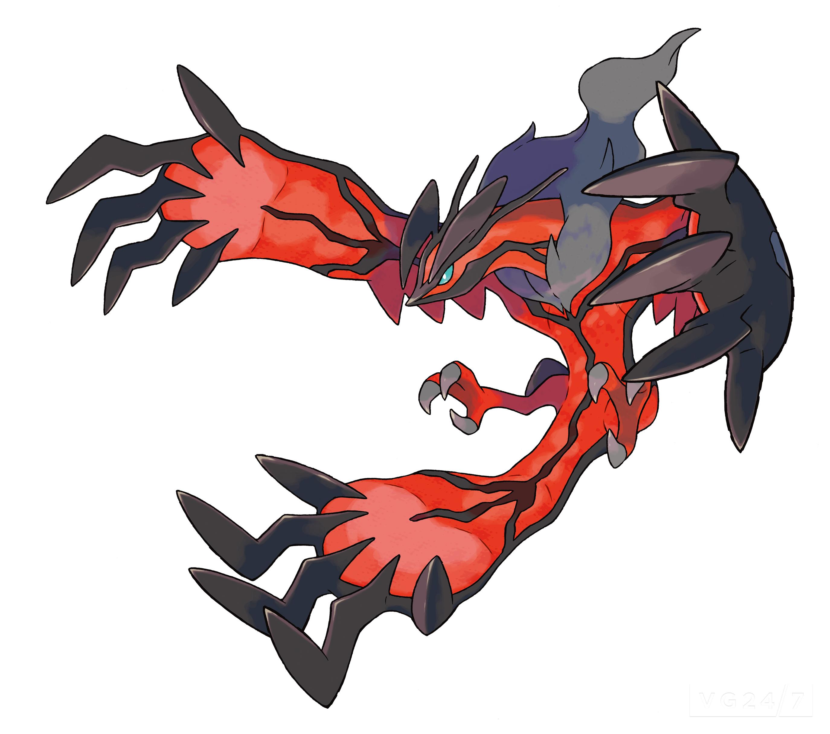 Coloriage Yveltal Pokemon Legendaire X Et Y A Imprimer