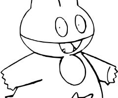 Coloriage Goinfrex Pokemon