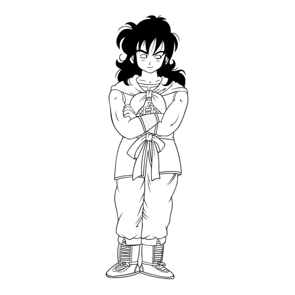 Coloriage Yamcha Dragon Ball