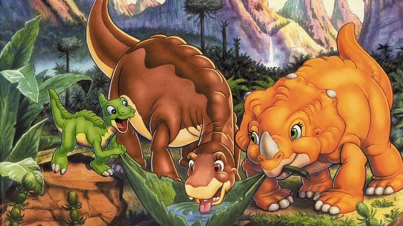 Coloriage le petit dinosaure petit pied imprimer et - Petit pieds dinosaure ...