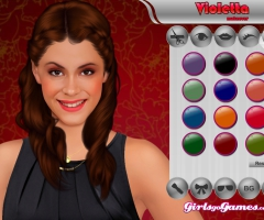 Maquillage Violetta