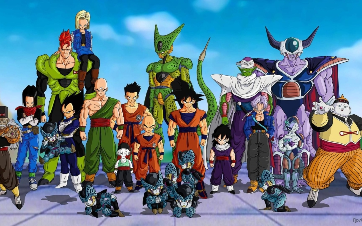 Personnages Dragon Ball Z