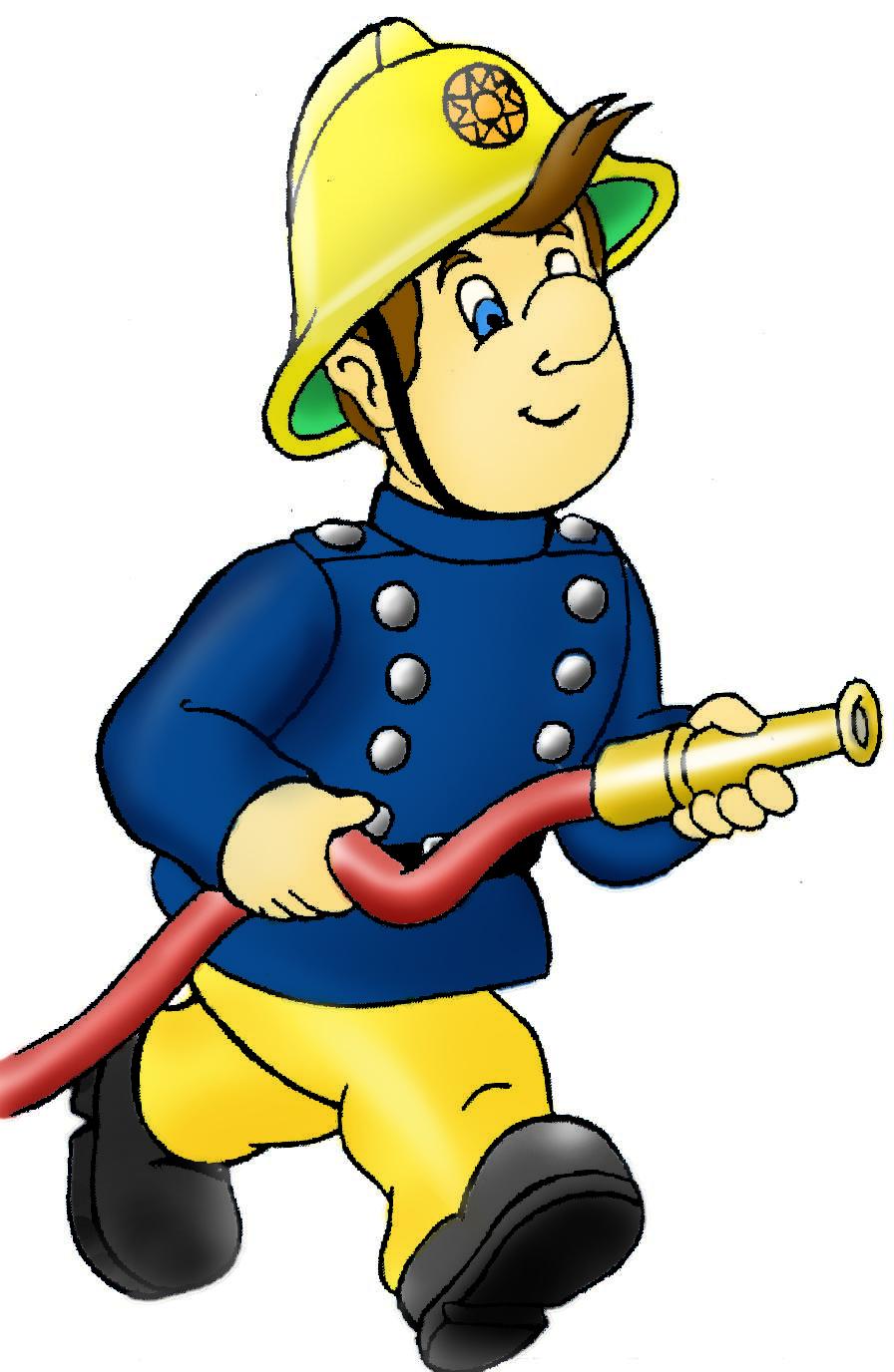 Coloriage pompier gratuit imprimer - Dessin pompier a imprimer ...